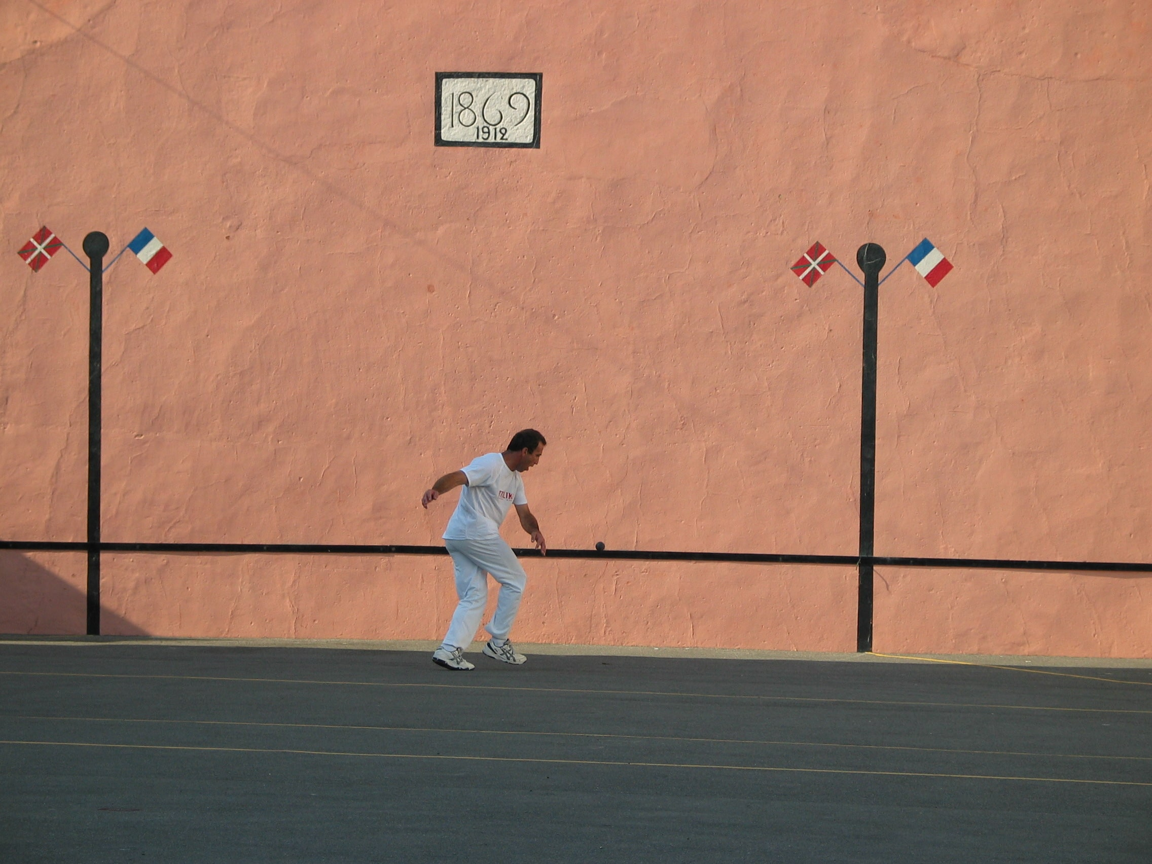 Joueur de pelote basque