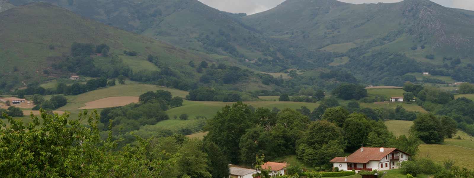 vue du pays basque